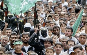Palestinian Crowd